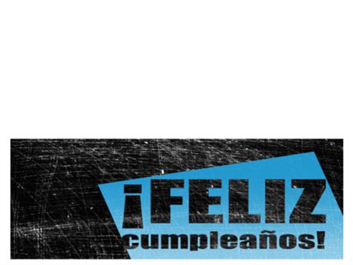 Tarjeta de felicitación, fondo rayado (negro, azul, plegada)