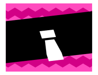 Pancarta de felicitación con diseño gráfico
