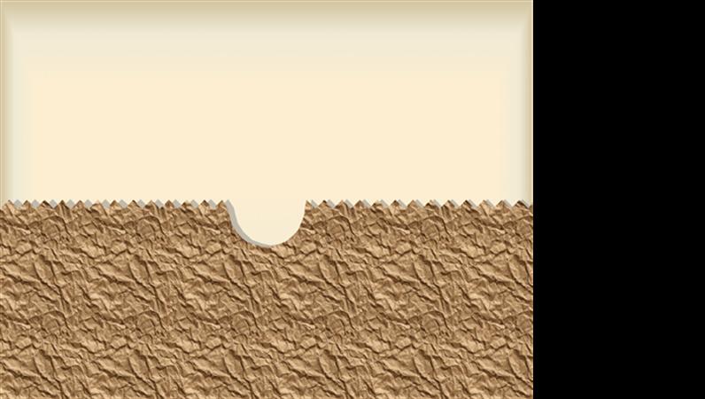 Plantilla de diseño de bolsas de papel marrón