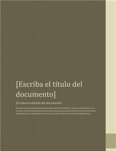 Informe (diseño de proximidad)