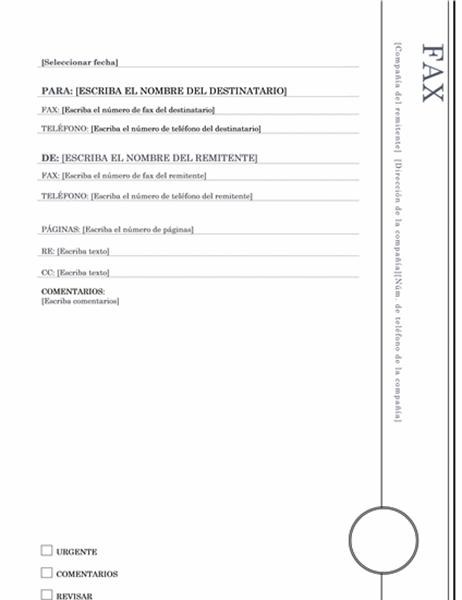 Fax (tema Mirador)