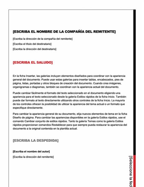 Carta (diseño esencial)