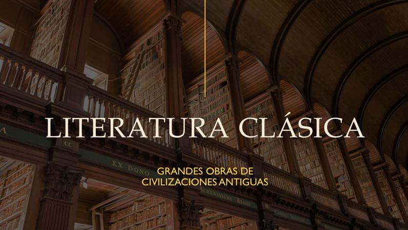 Presentación para el ámbito educativo de un libro clásico (pantalla panorámica)