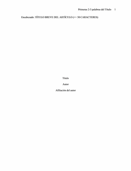 Formato de documento de asociación