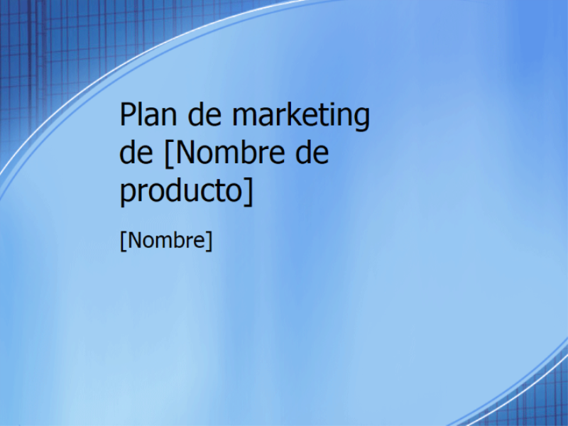 Presentación de plan de marketing