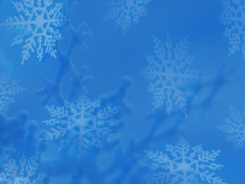 Plantilla de diseño de copos de nieve