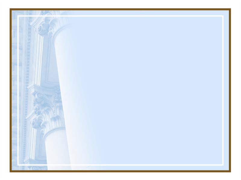 Plantilla de diseño de columnas corintias