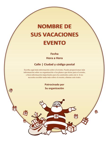 Prospecto de evento de Navidad