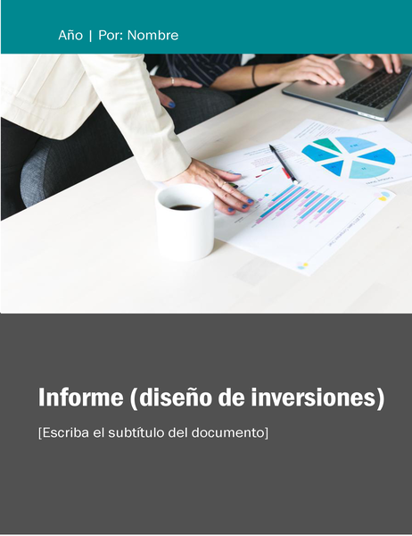 Informe (tema Inversiones)