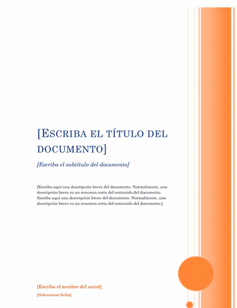 Informe (diseño Mirador)