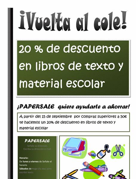 Oferta de libros