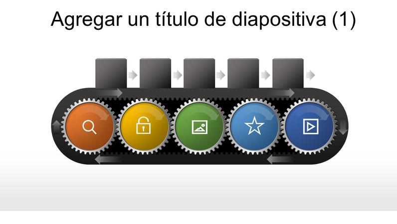 Gráfico de engranaje de cinta transportadora