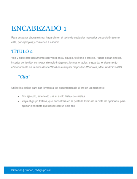 Documento empresarial