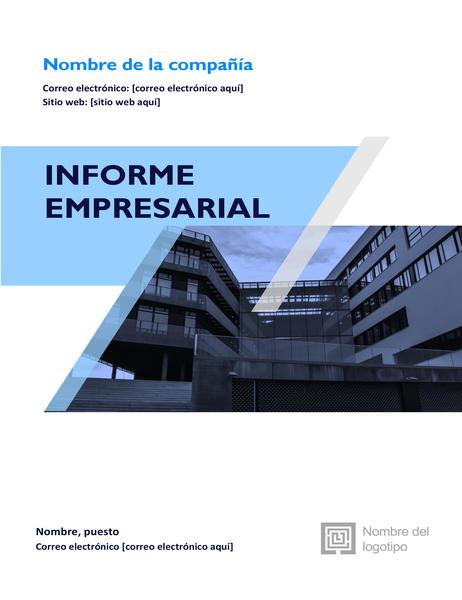 Informe empresarial (diseño gráfico)