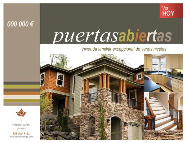 Cartel inmobiliario (horizontal)
