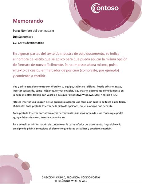 Memo conjunto rosa
