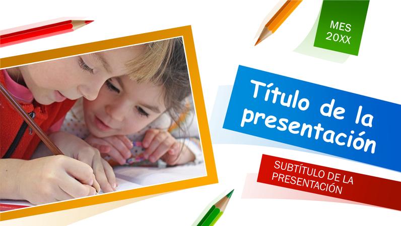 Presentación escuela primaria