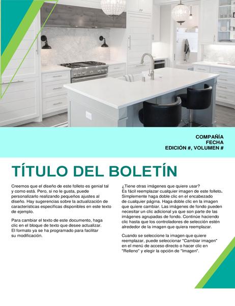 Boletín de diseño interior