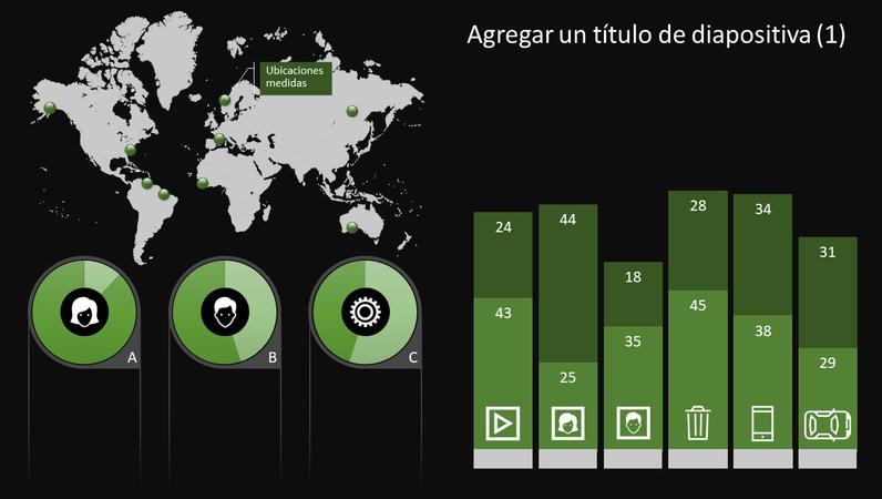 Gráfico de infografía global