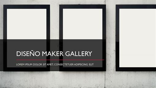 Diseño Maker Gallery