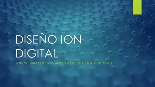 Diseño Ion digital