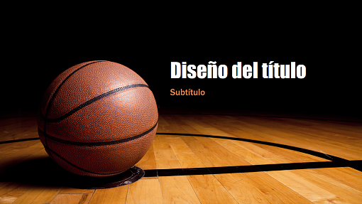 basketball tournament program template - presentaci n de baloncesto pantalla panor mica