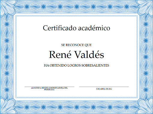 Certificados - Office.com