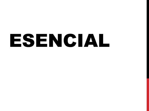 Esencial