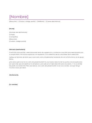 Ejemplo de Carta de Recomendación de Proveedores