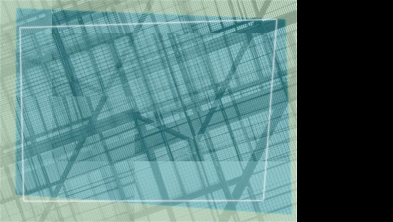 Plantilla de diseño geométrico