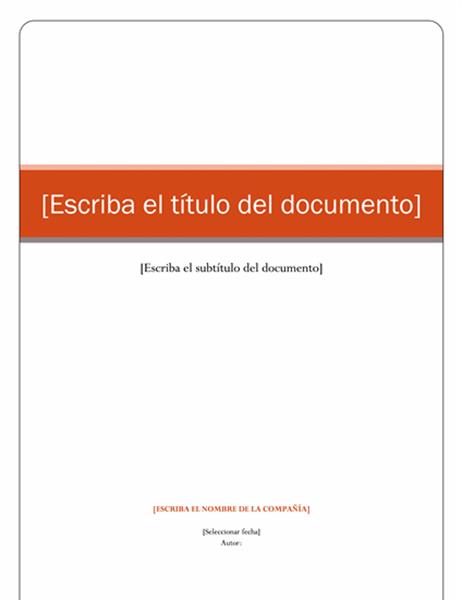 Informe (tema Equidad)