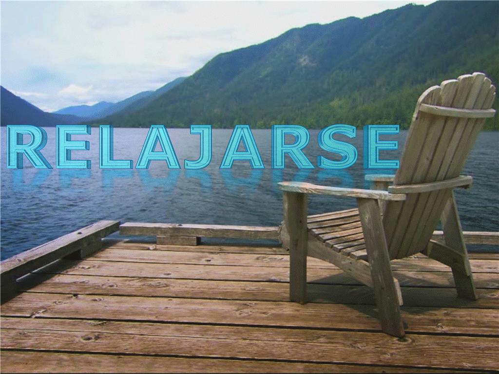 Relax en el lago (con vídeo)