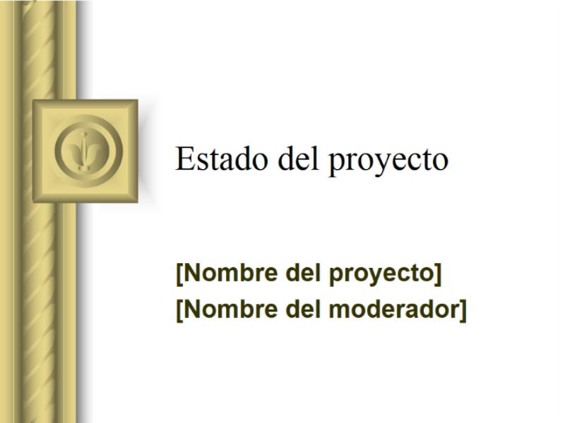 Informe del estado del proyecto