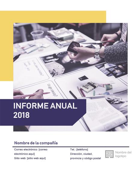 Informe anual rojinegro