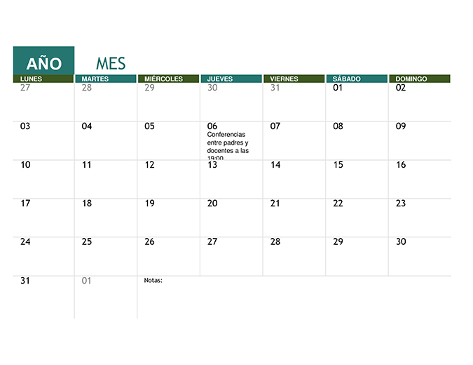 Calendarios - Office.com