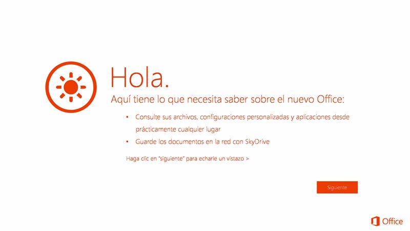 Introducción a Office 365 Home Premium