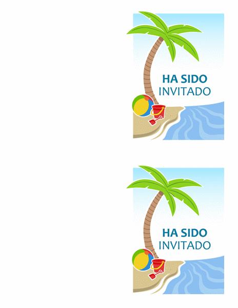 Invitación para fiestas
