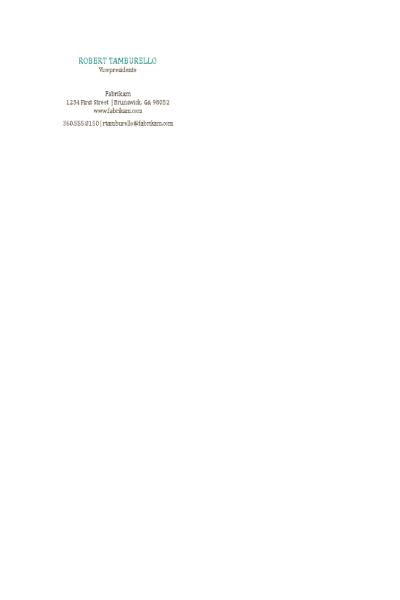 Tarjetas de presentación, diseño horizontal sin logotipo y nombre en mayúsculas