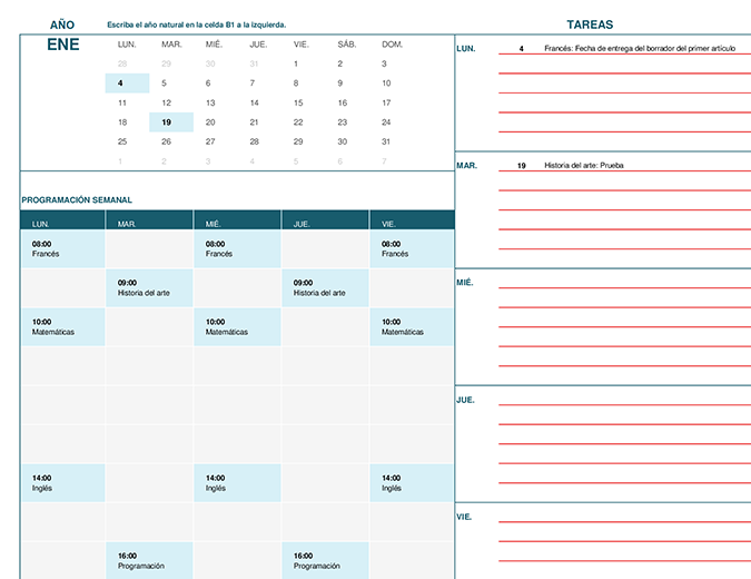 formatos para calendarios - Boat.jeremyeaton.co