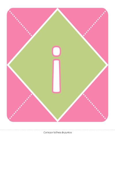 Pancarta de bienvenida a la recién nacida (rosa, morado, verde)
