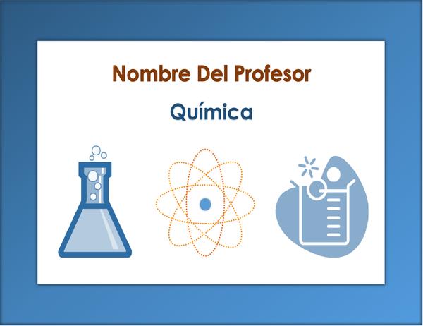 Anuncio de clase (química)