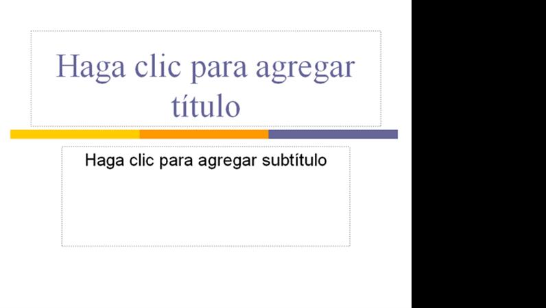 Presentación (Tema de nivel)