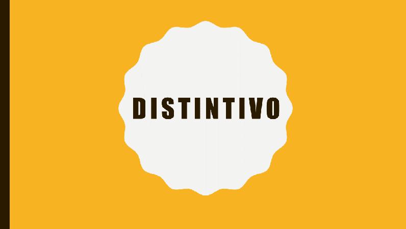 Distintivo