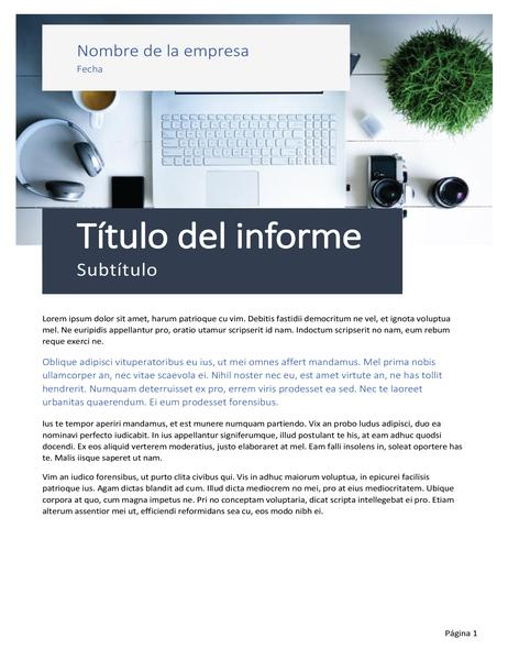 Informe (diseño Origen)
