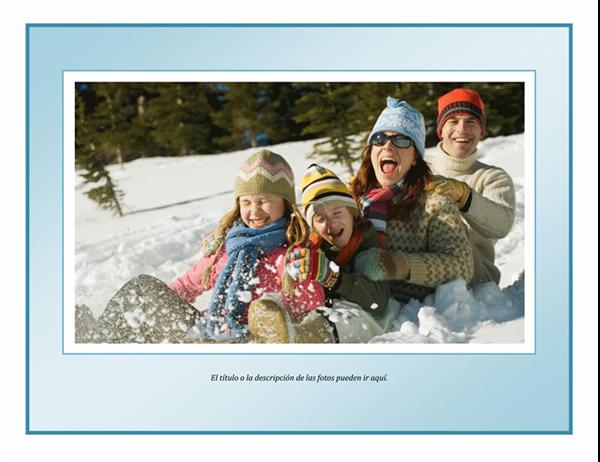 Calendario de fotos de 2008 (para encuadernación en espiral, lun-dom)