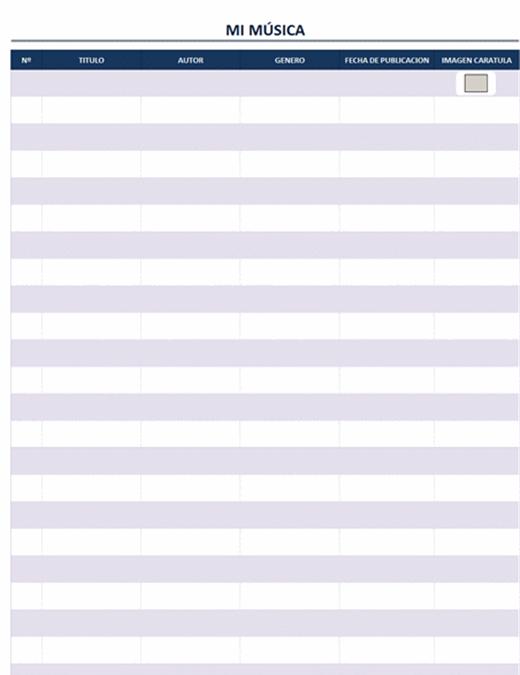 Lista de precios y reportes (Tabla dinámica)