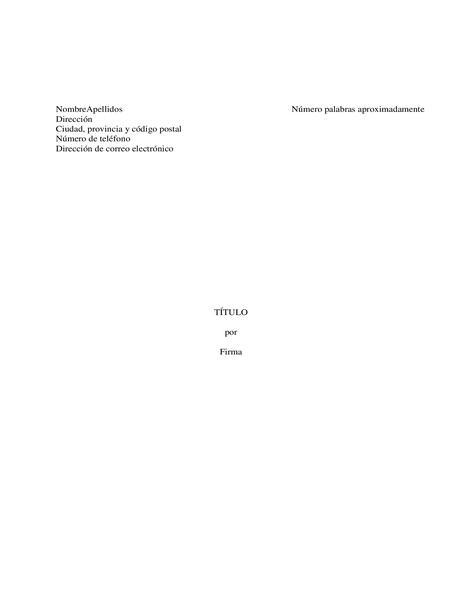 Manuscrito del libro