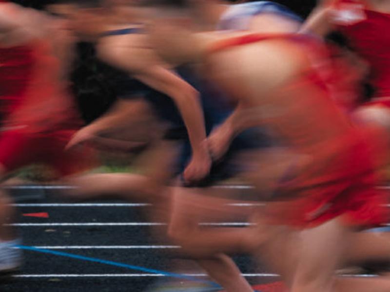 Plantilla de diseño de atletismo para los juegos de verano 2008