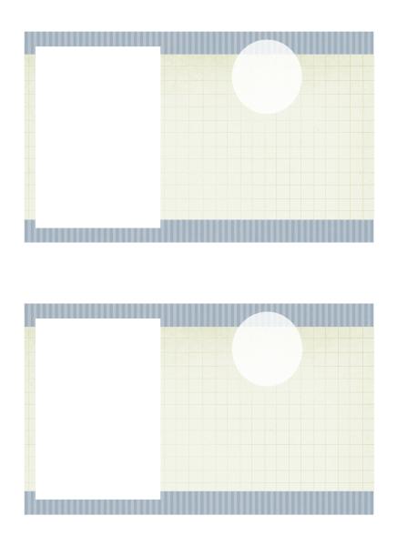 Anuncio de graduación con foto (diseño de texturas)