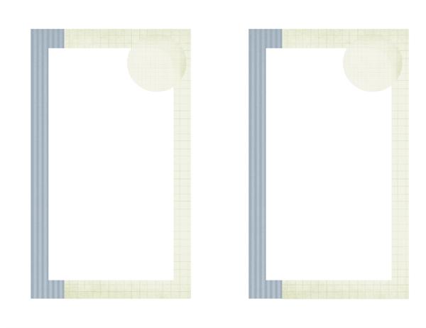 Anuncio de graduación (diseño de texturas)